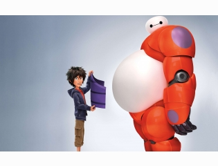 Hiro Baymax In Big Hero 6