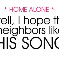 Home Alone Cover