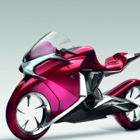 Honda V4 Concept Widescreen Bike Wallpapers