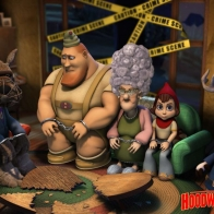 Hoodwinked Wallpaper
