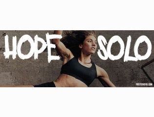 Hope Solo Cover