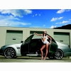 Hot Car Model And White Car Wallpaper