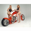 Hot Chick Bike Model Wallpaper 150