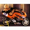 Hot Chick Bike Model Wallpaper 22