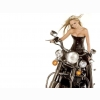Hot Chick Bike Model Wallpaper 41