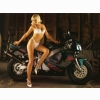Hot Chick Bike Model Wallpaper 48