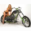 Hot Chick Bike Model Wallpaper 67
