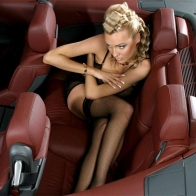 Hot Chick Car Model Exotic Wallpaper