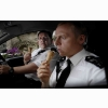 Hot Fuzz Eating Ice Cream Cones Wallpaper