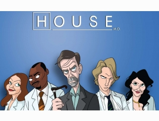 House Cast Wallpaper