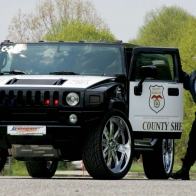 Hummer Police Car Hd Wallpapers