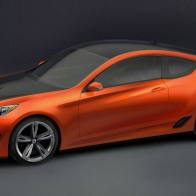 Hyundai Genesis Coupe Concept Hd Wallpapers
