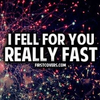 I Fell For You Really Fast Cover
