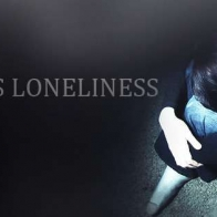 I Hate This Loneliness Girl Facebook Cover