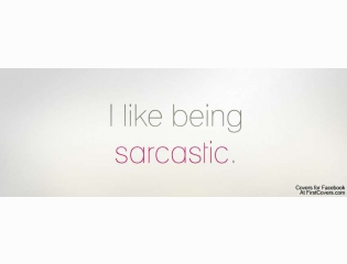 I Like Being Sarcastic Cover