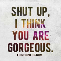 I Think You Are Gorgeous Cover