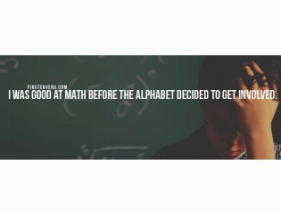 I Was Good At Math Cover