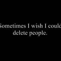 I Wish I Could Delete People Cover