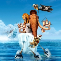 Ice Age 4 Continental Drift Movie Wallpaper