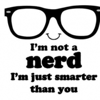 Im Not A Nerd Cover