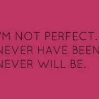 Im Not Pefect Cover