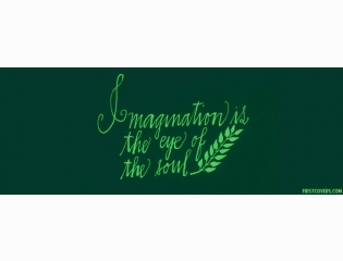 Imagination Is The Eye Of The Soul Cover