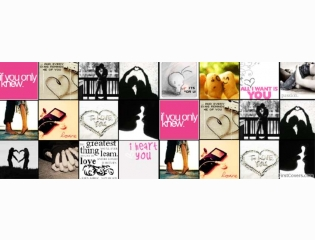 In Love Collage Cover