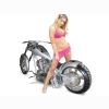 In Pink Custom Chopper Wallpaper