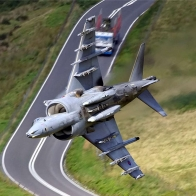 In The Mach Loop Wallpaper