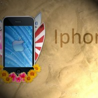 Iphone Beach Art Wallpapers