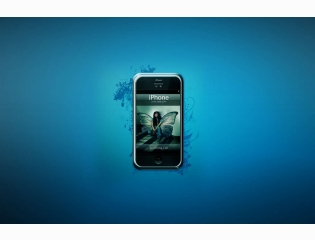 Iphone Blue Wallpapers