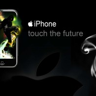 Iphone Touch The Future Wallpapers