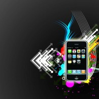 Iphone Vector Style Wallpapers