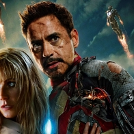 Iron Man 3 Tony Stark And Pepper Potts Wallpaper