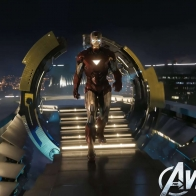 Iron Man In The Avengers Movie Wallpapers