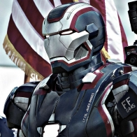 Iron Patriot In Iron Man 3 Wallpaper