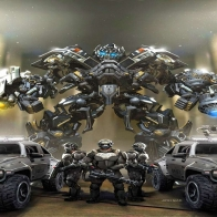Ironhide Team Soldier Wallpaper