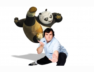 Jack Black As Panda Wallpapers