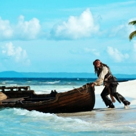 Jack Sparrow Pirates Of The Caribbean 4 Wallpaper