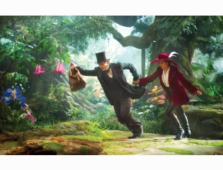 James Franco Mila Kunis Oz The Great And Powerful Hd Wallpapers