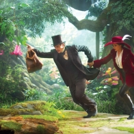 James Franco Mila Kunis Oz The Great And Powerful Wallpapers