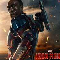 James Rhodes In Iron Man 3 Wallpapers
