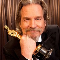Jeff Bridges With Oscar