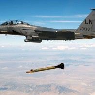 Jet Fighter Drops Missile Wallpapers