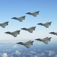 Jet Fighters Formation Wallpapers