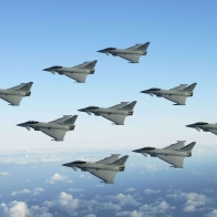 Jet Fighters Sky Formation Position