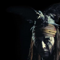 Johnny Depp As Tonto - The Lone Ranger Movie Wallpaper