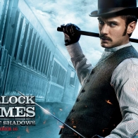 Jude Law In Sherlock Holmes 2 Wallpapers