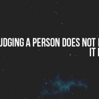 Judging A Person Cover