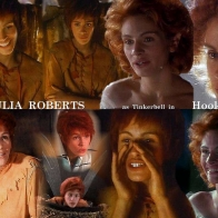 Julia Roberts And As Tinkerbell From Hook Wallpaper Wallpapers